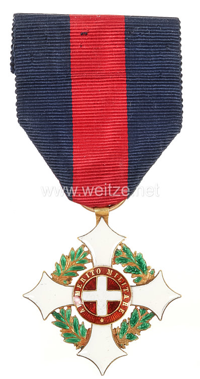Königreich Italien Militärorden von Savoyen Ritterkreuz
