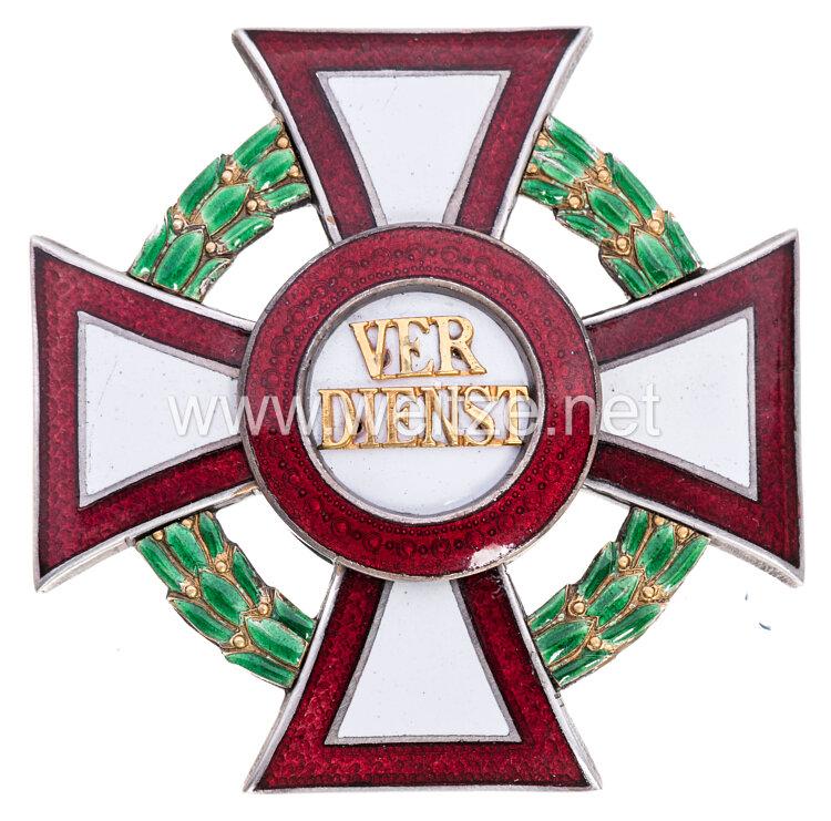 Österreich K.u.K. Monarchie Militärverdienstkreuz 1. Klasse mit Kriegsdekoration