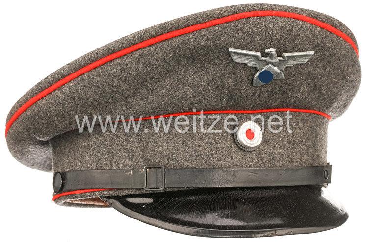III. Reich Schirmmütze für einen Angehörigen des Werkschutz