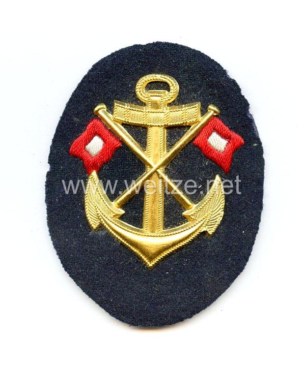 Kriegsmarine Ärmelabzeichen für einen Signalmaat