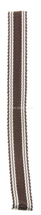 NSDAP Dienstauszeichnung in Bronze - Band für die Miniatur