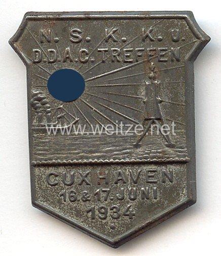 NSKK u. DDAC Treffen Cuxhaven 16. & 17. Juni 1934