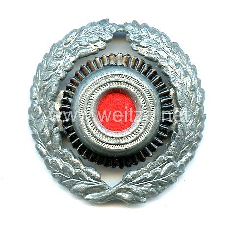 Reichspost/Postschutz Eichenlaubkranz und Kokarde für die Schirmmütze