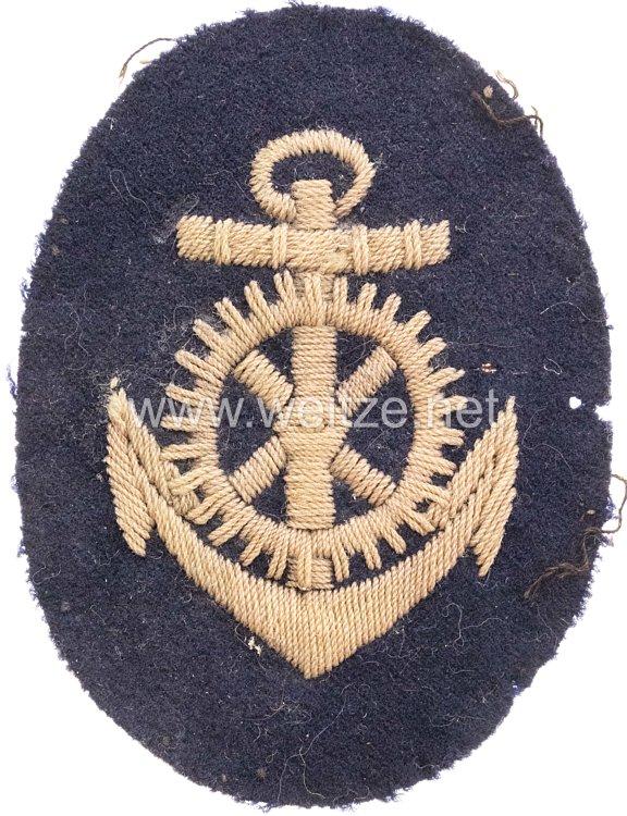 Kaiserliche Marine Ärmelabzeichen für einen Maschinistenmaat