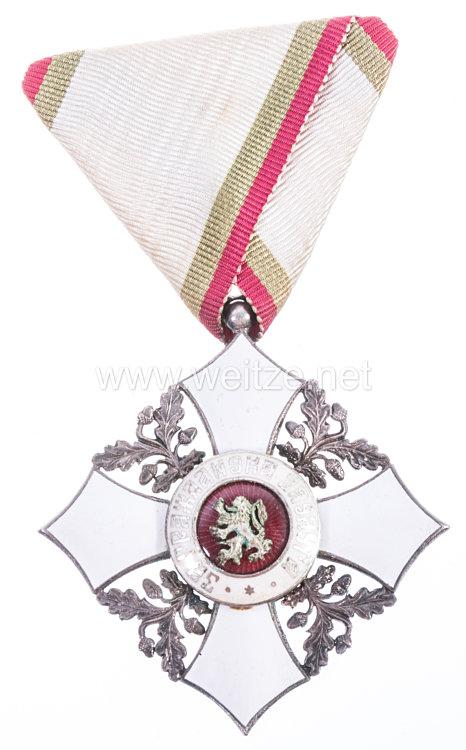 Bulgarien Zivil-Verdienstorden Modell (1944-1946) V. Klasse