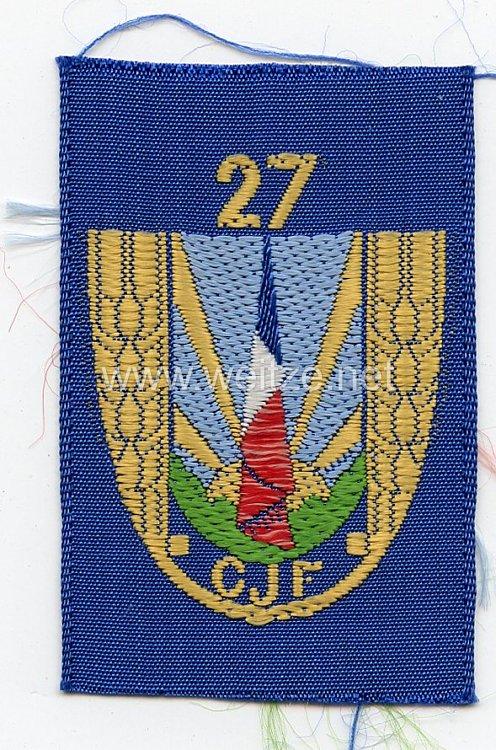 Frankreich 2.Weltkrieg Vichy Regierung, Barettabzeichen der Jugendorganisation