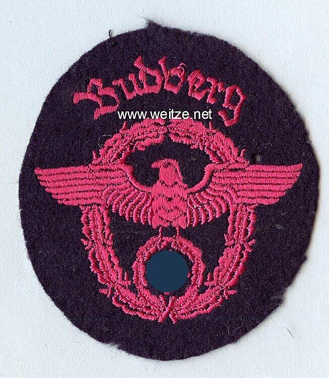 """III. Reich Feuerwehr Ärmeladler """" Bubbenberg """""""
