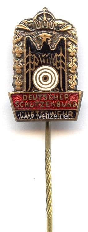 Deutscher Schützenbund ( DSB ) - Kleine Schießnadel in Bronze