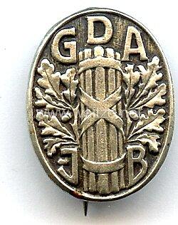 Jugendbund im Gewerkschaftsbund der Angestellten ( GdAJB ) -Mitgliedsabzeichen