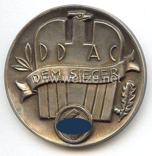 III. Reich - Der Deutsche Automobil Club ( DDAC ) - nichttragbare Siegerplakette -