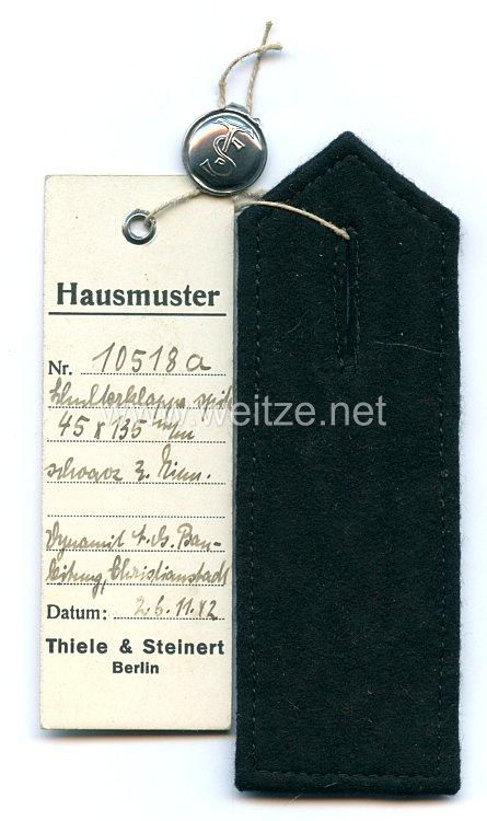 III. Reich Einzel Schulterstück eines Angehörigen der Dynamit AG in Christianstadt (Krzystkowice, Polen)