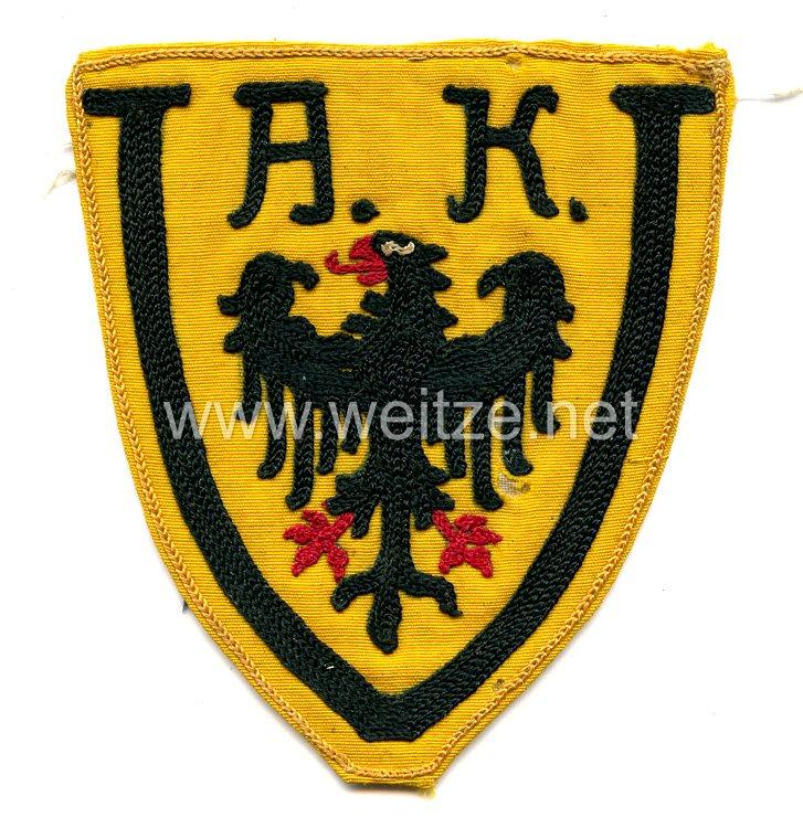 Reichswehr Brustadler für das Sporthemd Armeekorps V