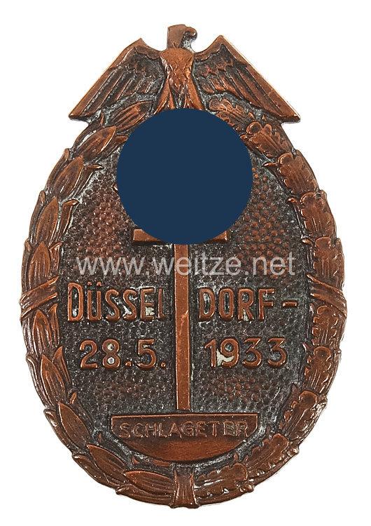 III. Reich - Ehrenzeichen zur Schlageter-Gedächtnisfeier Düsseldorf 28.5.1933
