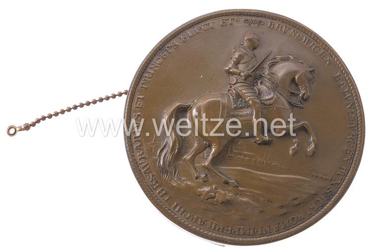 Braunschweig Abguss einer Phalerae mit Reiterbildnis