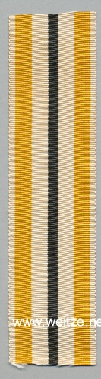 Preußen Band zum Allgemeinen Ehrenzeichen 2. Klasse, Kriegsband für Militär-Unterbeamte