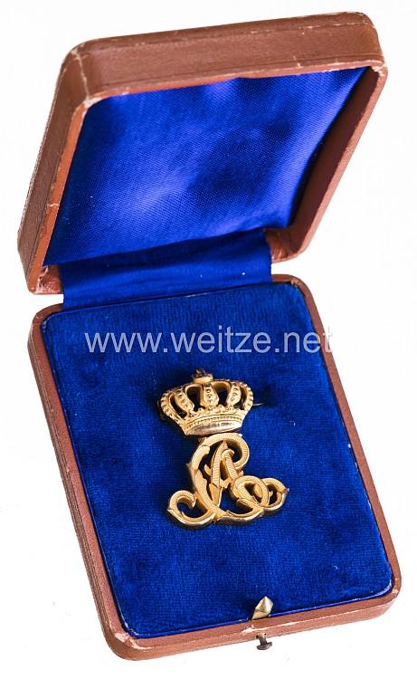 Thüringen Luxus-Zivilabzeichen für Angehörige des Infanterie-Regt. Nr. 94