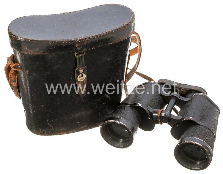 Wehrmacht Dienstglas 7 x 50 mit wegklappbaren Okularmuscheln
