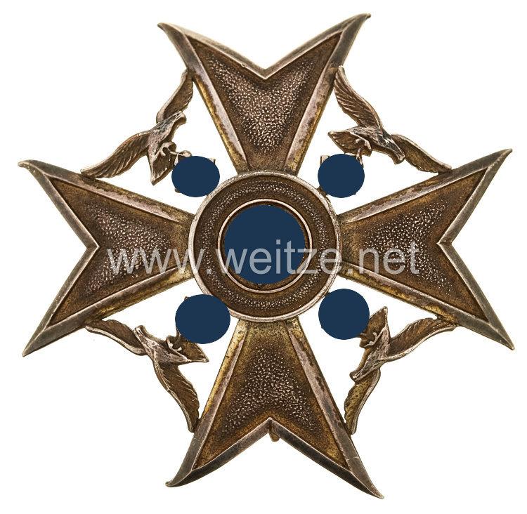 Spanienkreuz in Silber