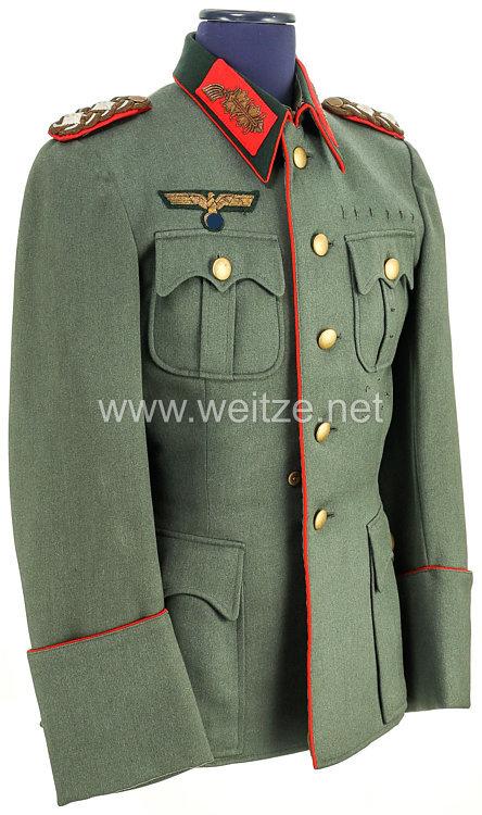 Wehrmacht geschönte Feldbluse für einen General der Infanterie