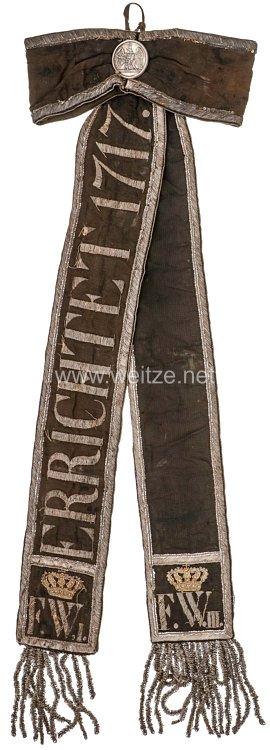 Preußen Säkular-Standartenband für die Fahne des Kürassier-Regiments Königin (Pommersches) Nr. 2