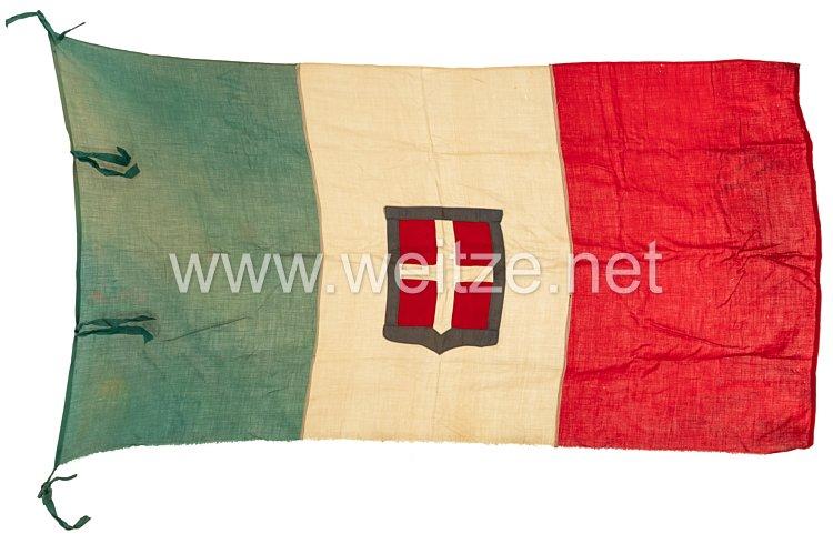 Königreich Italien,National- und Handelsflagge
