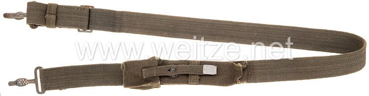Wehrmacht Tragegurt für die Bergmann Maschinenpistole