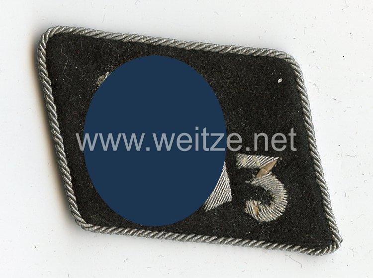 Waffen-SS Einzel Kragenspiegel für Führer im SS-Regiment 3