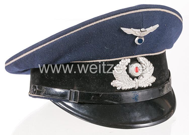 III. Reich Bahnschutzpolizei Schirmmütze für Mannschaften und Unterführer