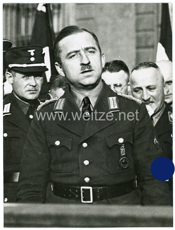 III.Reich Pressefoto, beauftragter der NSBO Reichstagsabgeordneter Walter Schumann