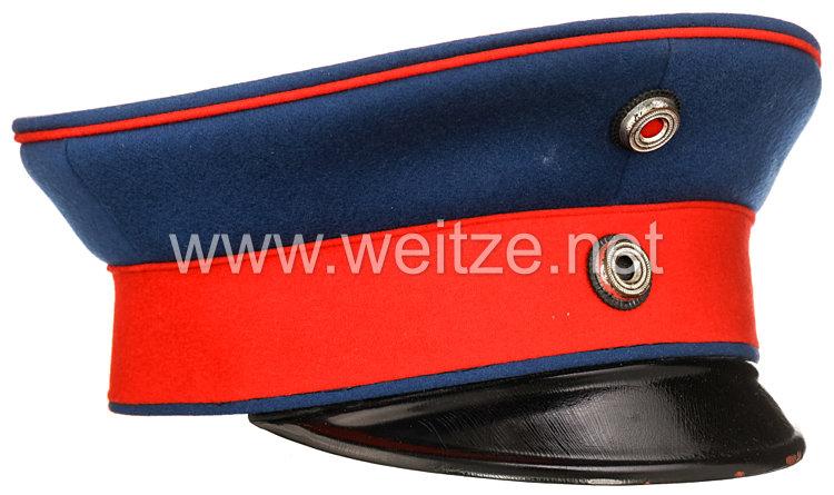 Weimarer Republik Schirmmütze für einen ehemaligen Offizier der preußischen Infanterie