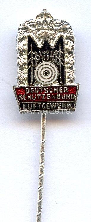 """Deutscher Schützenbund ( DSB ) -Kleine Schießnadel in Silber """" Luftgewehr """""""
