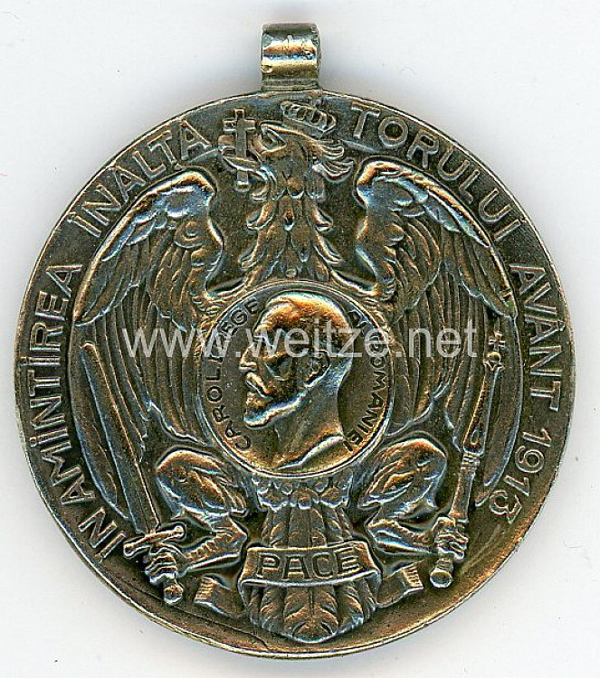"Rumänien ""Medalia Avantul Tarii"" (Medaille zum Aufschwung des Landes)"