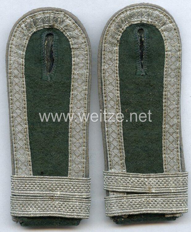 Wehrmacht Heer Paar Schulterstücke eines Offiziersanwärter der Kraftfahrtruppe