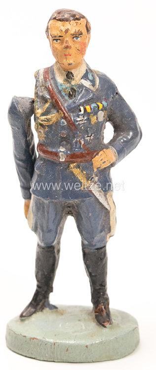 Elastolin - Hermann Göring in blauer Fliegeruniform stehend