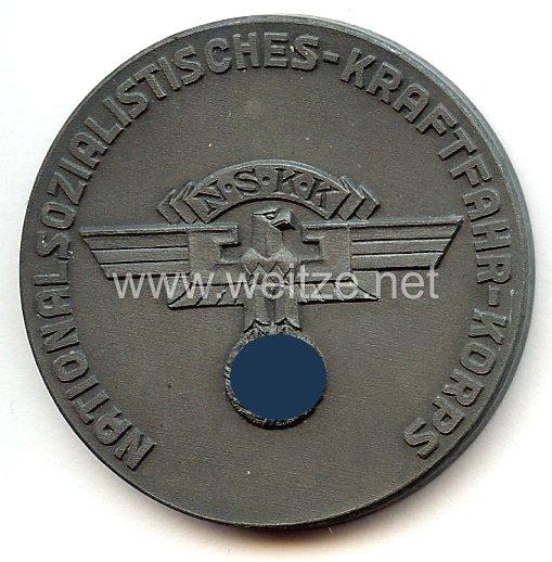 """NSKK - nichttragbare Teilnehmerplakette - """" NSKK Gelände- u. Zuverlässigkeitsfahrt 4. Juli 1937 - Masuren """""""