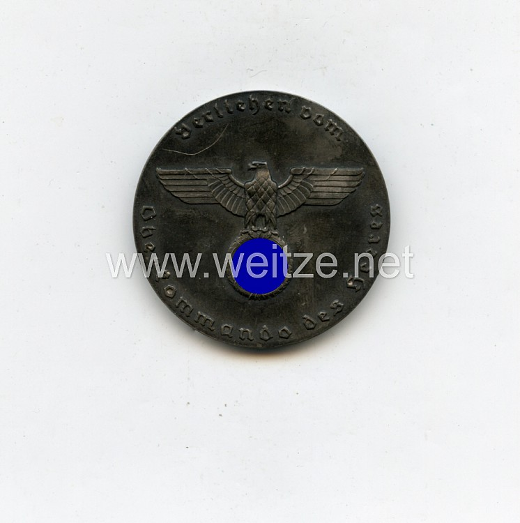 """Wehrmacht nichttragbare Auszeichnung Medaille """"Für Verdienste um das Deutsche Hundewesen"""""""