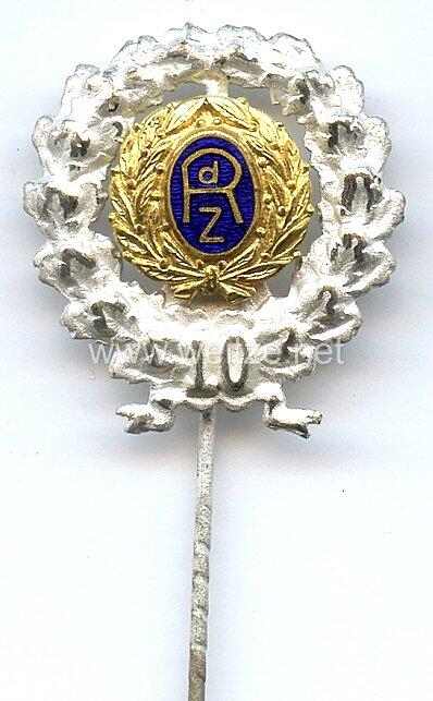 Reichsbund der Zivildienstberechtigten ( RdZ ) -Silberne Ehrennadel für 10 jährige Mitgliedschaft 1. Form