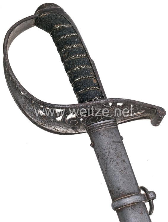 Württemberg Kavallerie Säbel für Offiziere Modell 1859.