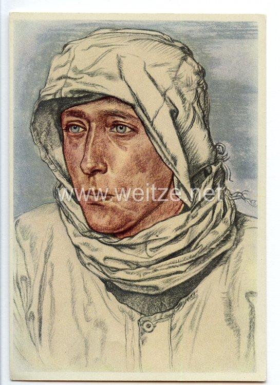 Heer - Willrich farbige Propaganda-Postkarte -