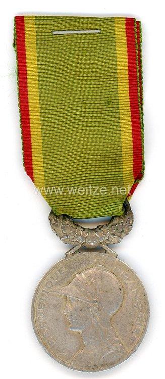 """Frankreich Medaille """"Société d'encouragement au dévouement"""""""