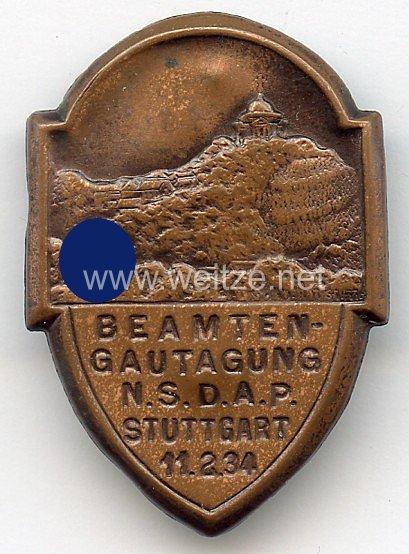 NSDAP - Beamten-Gautagung Stuttgart 11.2.1934