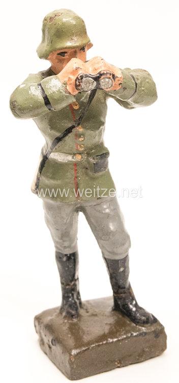 Lineol - Heer Offizier mit Fernglas