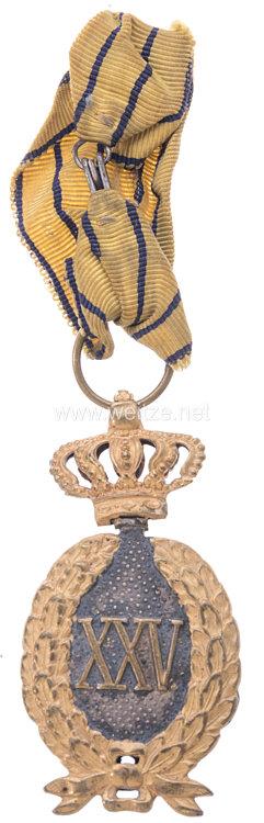 Königreich Rumänien Semnul onorific de 25 ani (Dienstauszeichnung für Offiziere für XXV Jahre)