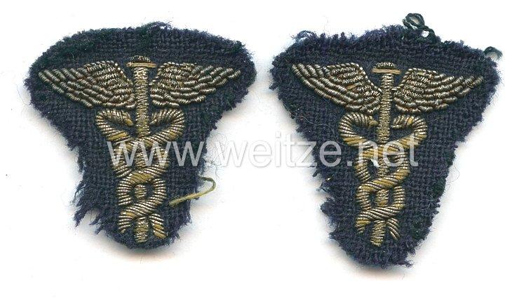 Kriegsmarine Paar Ärmelabzeichen für einen Verwaltungsoffizier