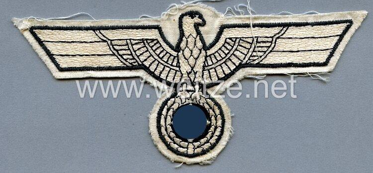 Wehrmacht Heer großer Brustadler für Offiziere für das Sporthemd
