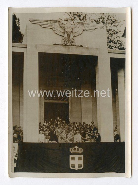 III. Reich Pressefoto. Die Grosse Parade in Rom. 6.5.1938.