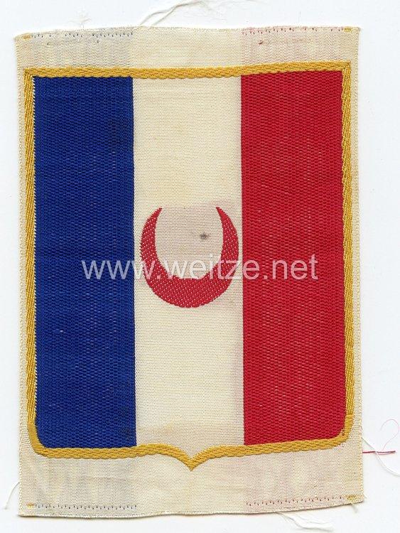 Frankreich 2.Weltkrieg Vichy Regierung, Abzeichen für das Sporthemd der Französischen Streitkräfte nach den Waffenstillstand, Ausführung für die Zouaven
