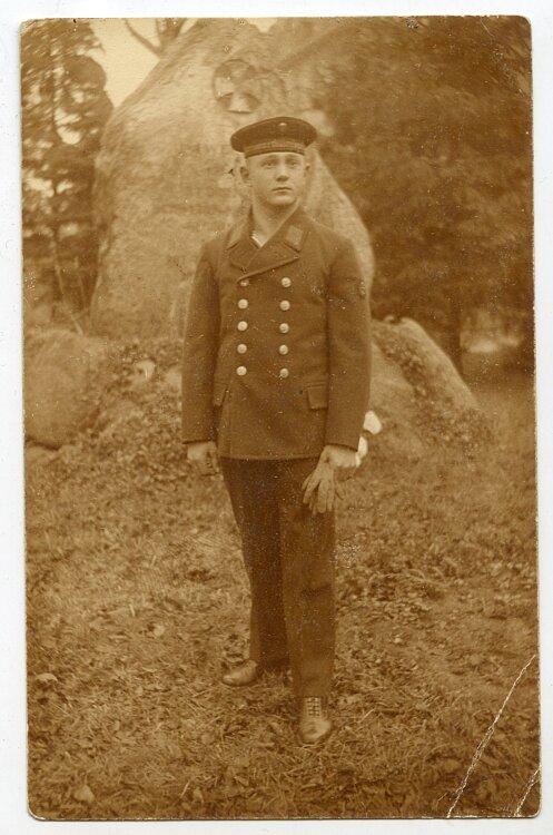 1. Weltkrieg Foto, Angehöriger der Kaiserliche Marine