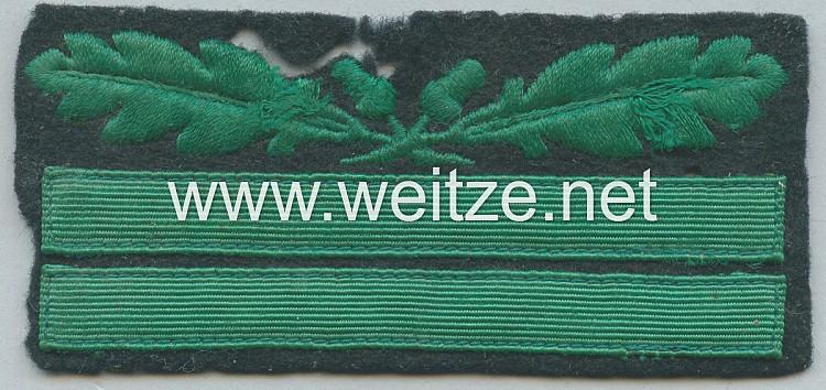 Waffen-SS Rangabzeichen für die Tarnuniform für einen SS-Obersturmführer
