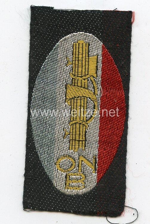 Italien 2. Weltkrieg Ärmelabzeichen der Faschistischen Jungendorganisation ONB